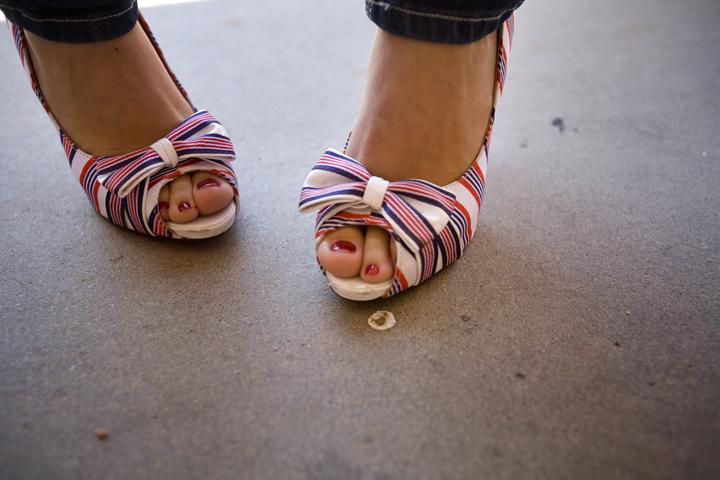 Fourth of July heels