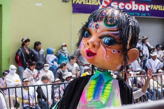 Dia de los Blancos en Pasto, Narino, Colombia
